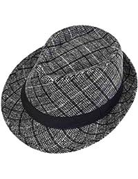 f917c851dd496 Sombrero Trilby Fedora Felt De Otoño E Invierno Con Banda Negra