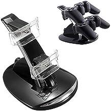Chargeur Double Contrôleur Dock pour Manettes de PlayStation 3 - Noir