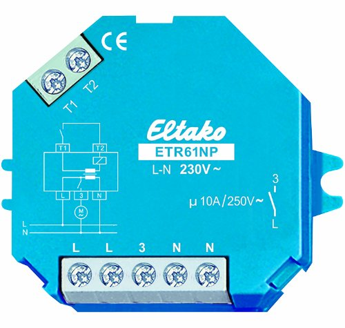 Eltako 61100631 ETR61NP-230V+FK Trennrelais mit Fensterkontakt 1 St.