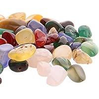 ounona 0,5–2cm 100g Natur Colorful Achat Stein für cabbing/Schneiden/Lapidary/Tumbling/Polieren preisvergleich bei billige-tabletten.eu