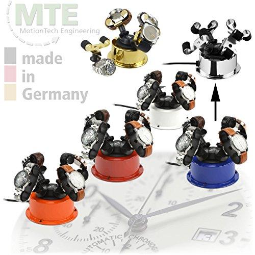 MTE Uhrenbeweger WTS 4 STEEL-EDITION für 4 Uhren - 2