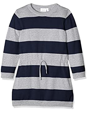 NAME IT Mädchen Kleid Nitvrinni Ls Knit Dress Mz