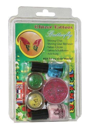 ly 730584 Glitzer Tattoo Set (Butterfly Tatoo)