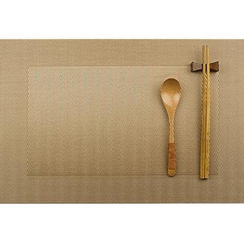 manteles continental-a prueba de calor/ Almohadilla occidental/Estilo japonés simple aislamiento impermeable pad/ Plato pad-C