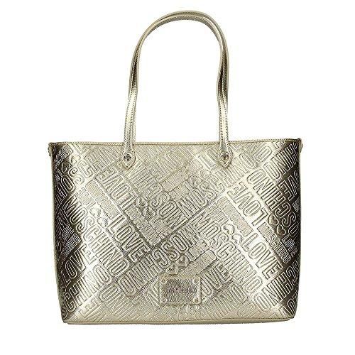 LOVE MOSCHINO JC4233PP05 Shopper Frau Gold TU -