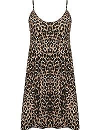 5dc9f94d4611 WearAll - Grande taille imprimé mini-robe débardeur top - Robes - Femmes -  Tailles