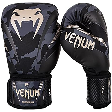 Venum MMA Impact Black/Camo Boxing Gloves - New -