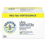 Penaten Ultra Sensitiv Tücher parfümfrei, 12 x 56 Tücher (gesamt 672 Tücher)