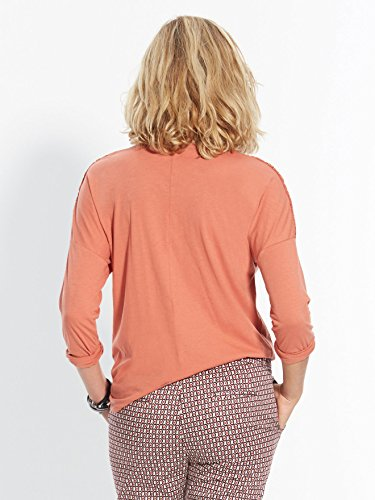 Balsamik - Tee-shirt avec guipure - femme Orange