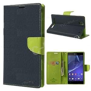 Mercury Goospery Fancy Diary Wallet Case Cover for Sony Xperia T2 Ultra