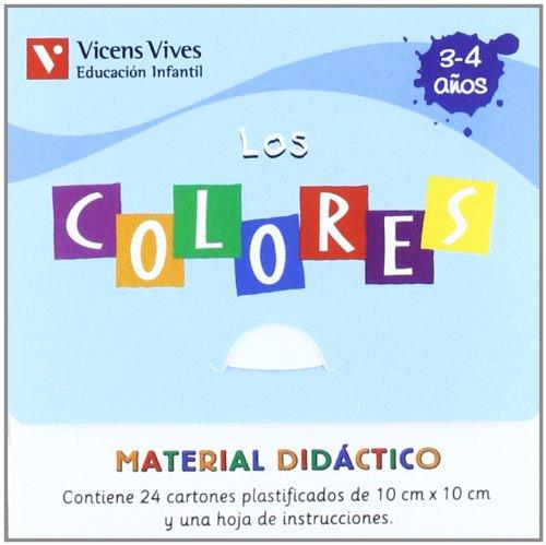 Caja Los Colores. Material Didactico (Juegos Didácticos) - 9788431681173