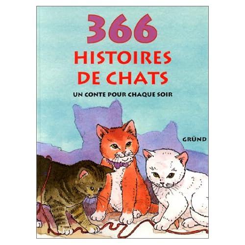 366 histoires de chats