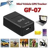 DERKOLY GF07 Mini Voiture GPS en Temps réel Dispositif de Suivi magnétique Portable Localisateur GPRS Requête de Suivi Global Enregistrement Anti-Perte Suivi de GPS