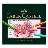 Faber-Castell 128524 Pastellkreide Polychromos Etui 24er
