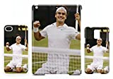 Roger Federer tennis fist iPad AIR Tablette Etui coque Housse