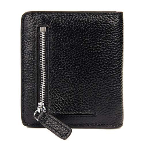tasche Frauen RFID Blockieren Bifold Coinn Tasche Mode Multi-Color Einfache Geldbörse Reißverschluss Haspe Kleine Kurze Handgemachte Kartenhalter ()