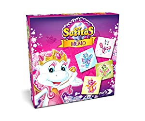 Noris Spiele 606011496-safiras Juego de Memo, magnéticas