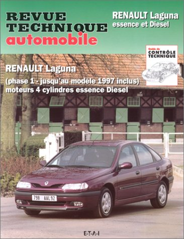 Rta 574.2 Renault laguna phase 1 jusqu'au mod 97 inclus 4 cyl E & D