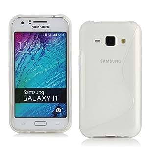 Coque Housse S-Line transparente Samsung Galaxy J1