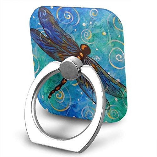 beautiful& Butterflies and Dragonflies Cell Phone Ring Holder, Finger Grip Stand Holder,360 Degrees Rotation,Compatible with iPhone,Samsung,Phone Case,etc Flash Bracket Grip