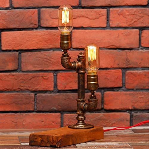 Xiaozou Tischlampe Retro Edison Steampunk Kaktus Styling Metall Tischlampe Industrie Schreibtisch Schlüssel Lampe Nacht Schlafzimmer Bar Cafe - Industrie-schreibtisch-lampe