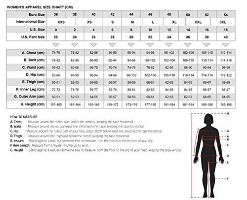 Australian Bikers Gear  – Sturgis Tour – Damen Motorrad-Lederjacke – Protektoren -52 (6XL) - 2