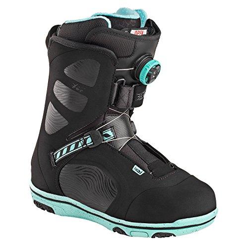 HEAD Damen Five Wmn Boa Snowboard Boots, Black, 38