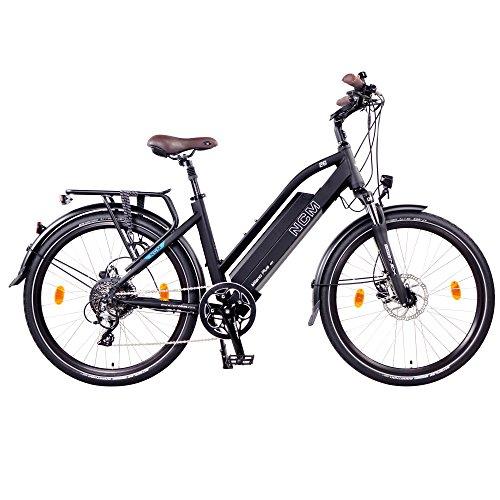 "NCM Milano Plus Urban E-Trekking E-Bike 48V 16Ah 768Wh (Schwarz, 26"")"