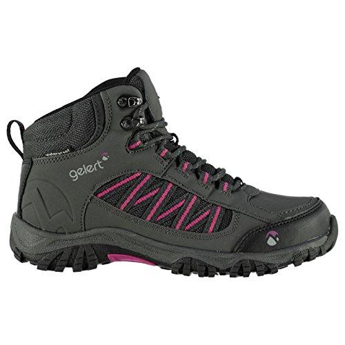 #Gelert Horizon Damen Mid Wasserdicht Wanderstiefel Trekking Stiefel Outdoor Charcoal 5 (38)#