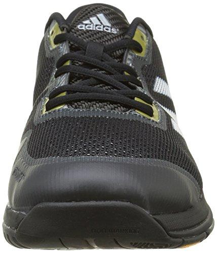 adidas Stabil Boost II, Scarpe da Handball, da Uomo Nero (Negbas/Ftwbla/Kusifo)