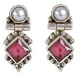 Best Sterling Silver - Silverwala 925-92.5 Sterling Silver Pearl, Ruby, Cubic Zirconia Review