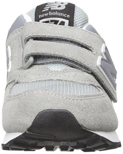 New Balance Kv574ciy-574, Scarpe da Ginnastica Alte Unisex – Bambini Grigio (Grey/Black 061)