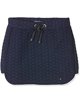 Tommy Hilfiger Mädchen Rock Cable Quilted Skirt