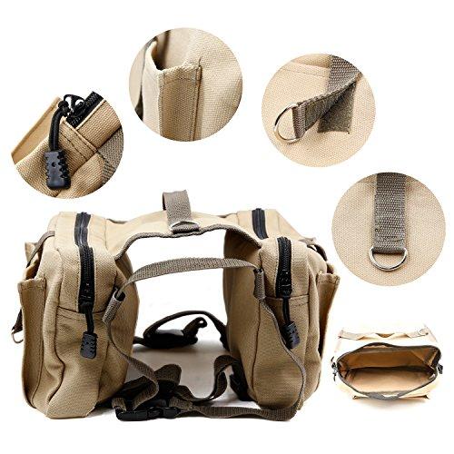 Amytech Hunderucksack Rucksack für Hunde dog backpack -