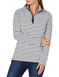 Joules Fairdale Zip Neck Sweatshirt, Navystp