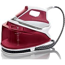 Rowenta Compact Steam DG7511F0 - Centro de planchado (autonomía ilimitada, 5,2 bares de presión, golpe de vapor 260 g/min, suela Microsteam Laser 400, regulación de temperatura, función Eco)