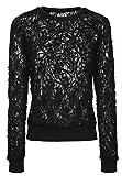 khujo Damen Sweatshirt MAARJA 1374SW153_200 200 BLACK, S
