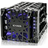 "ICY Dock MB074SP-1B - Carcasa para disco duro (4 x 8,9 cm/3,5"", SATA)"