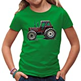 Traktoren Kinder T-Shirt - Traktor Fiat 130/90 by Im-Shirt - Kelly Green Kinder 3-4 Jahre