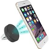 AUKEY Support Voiture Magnétique Support Universel à Grille d'aération pour iPhone 6s / iPhone 6 / iPhone SE / iPhone 5 / iPhone 5s / Samsung Galaxy S6 / LG G3 et les autres smartphones ( Noir )