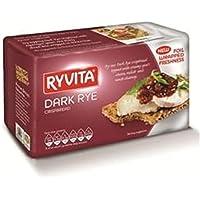 Ryvita oscuro Rye Pan crujiente 200g (paquete de 12 x 200g)