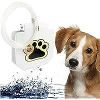 LVRXJP Alimentadores automáticos de Agua para Mascotas Fuentes para Beber al Aire Libre para Perros Dispensador