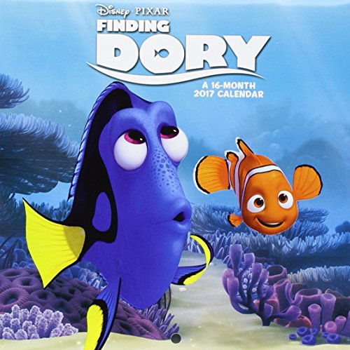 Click for larger image of Finding Dory Mini Wall Calendar (2017)