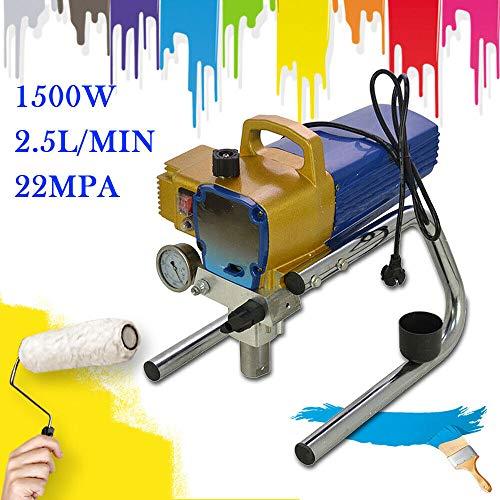 1500W Pulverizador de Pintura Airless sin Aire Rociador de Pintura H680 22Mpa 2.8 L/min sin aire Rociador Dispositivo