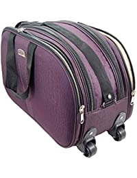 Hibhasu Cabin Luggage Bag, Travel Duffle Trolley Bag Attractive Design With Wheels For Travelling