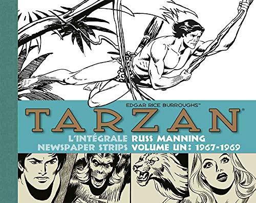 Tarzan : intégrale Russ Manning newspaper strips : Tome 1, 1967-1969 par Edgar Rice Burroughs