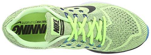 Nike Air Zoom Structure 18, Chaussures de sport homme Vert - Grün (Ghost Green/Black/Blue Lagoon/Gym Royal)