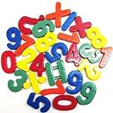 26 Piece Maths Numbers Fridge Magnets - Multicolured