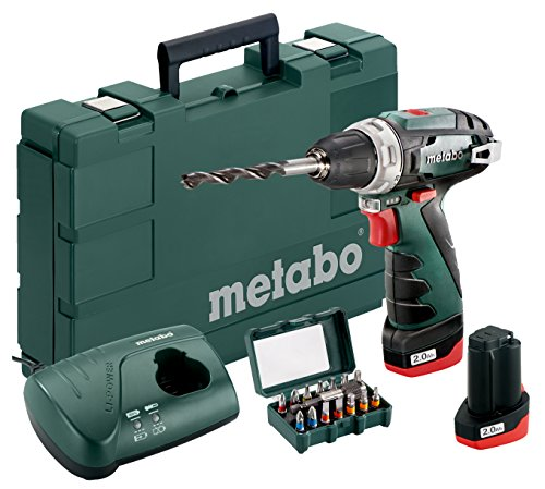 Metabo PowerMaxx BS (10,8 V / 2,0 Ah / 21-teilig)