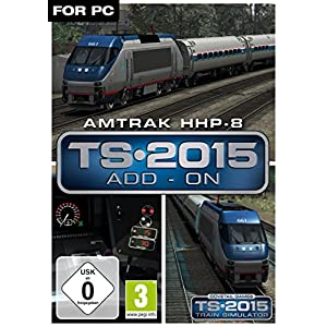 Amtrak HHP-8 Loco Add-On [PC Steam Code]
